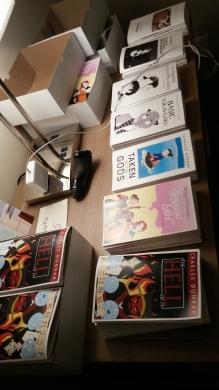 Charles Dunbar's books!