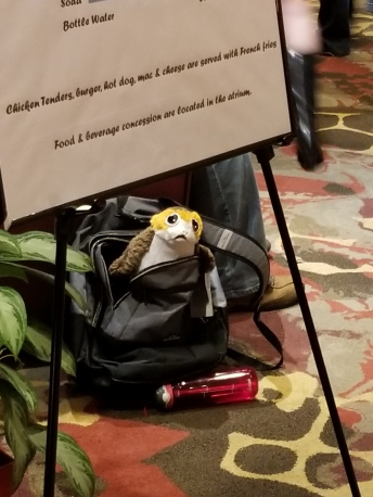 """1 in 10 Porgs get left in backpacks at anime conventions"""