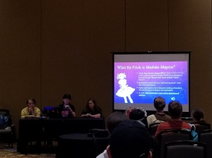 "Borderline Panels performing ""Don't Talk to Me About Madoka Magica"""
