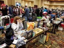 Making bank at the Otaku Flea Market
