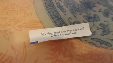 Good fortune.