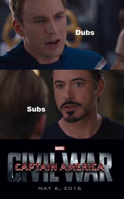 dub vs sub