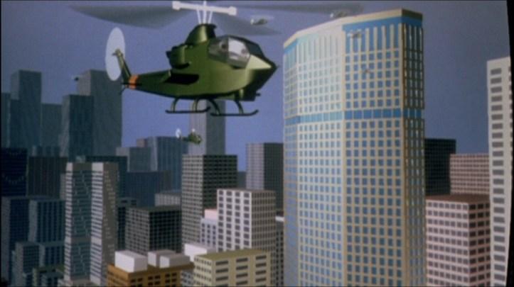 golgo 13 helicopter cgi